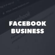 Zakaj potrebujemo Facebook Business