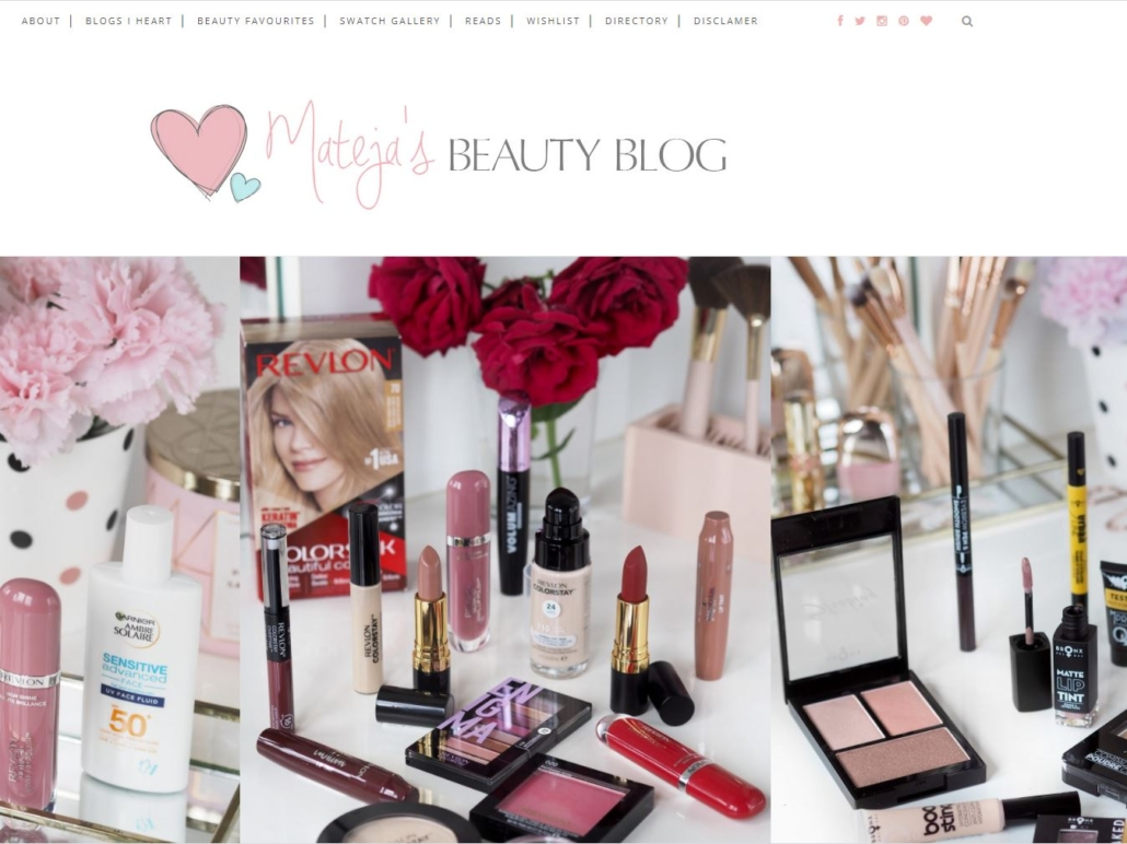 Mateja's beauty blog