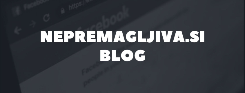 Rebeka Dremelj blog