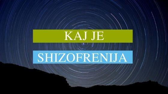 kaj je shizofrenija